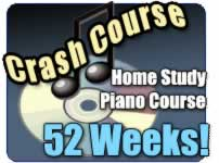 Home study piano course on DVD